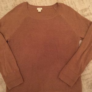 J Crew wool blend sweater